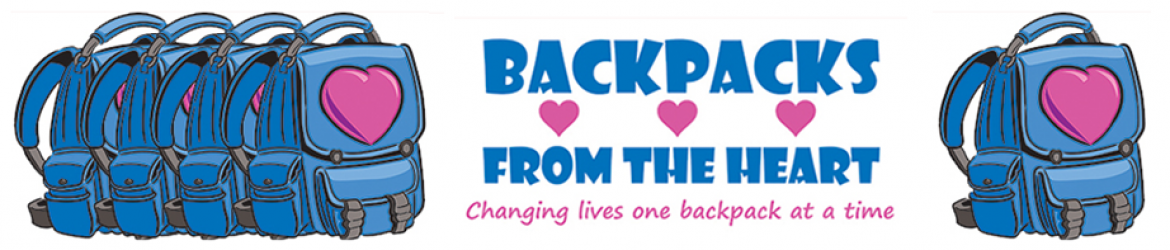 Backpacks from the Heart